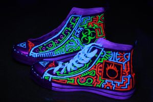 Rave Shoes by HalfBloodPrince71