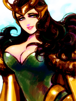 lady loki by kitamiya