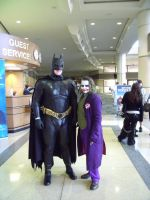 MegaCon: Batman and Joker by Devain