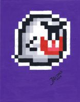 Super Mario Boo Painting by JesseAcosta