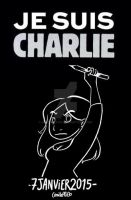 Je suis Charlie by Aiko-Katon