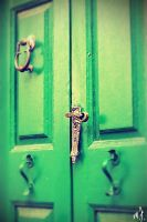 GreenDoor by moranaF