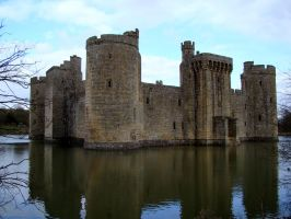 Bodiam Castle England III by babsartcreations