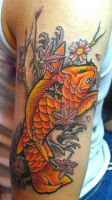 coi fish by ODIETATTOO