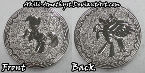 FIM Fausticorn Coin -first glimpse- by Akili-Amethyst