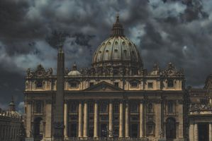 scary cathedral by stefankoem