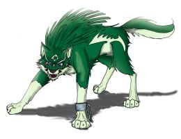 Wolf link by HylianGuardians