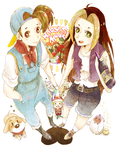 Harvest Moon 64 by Pasuteru-Usagi