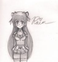 Rain Sketch by NinjaZombie5692