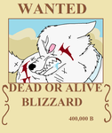 Blizzard's New Wanted Poster by XfangheartX
