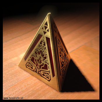 Sith Holocron mockup by The-Oubliette