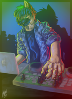 DJ Zeek is in da House by Pandamarium