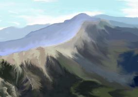 Mountain Study2 by frostbitedude
