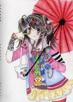 +.Decora Chan Coloured.+ by AoiJuliet