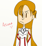 Asuna by creamcheesecheckers