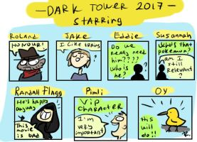 dark tower, 20 by Ayej