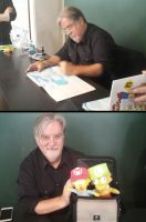 Matt Groening at Barnes and Nobles by MarioSimpson1