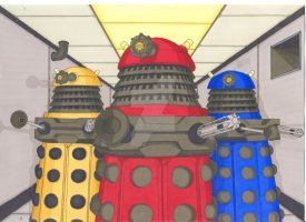 Daleks by Nick-of-the-Dead
