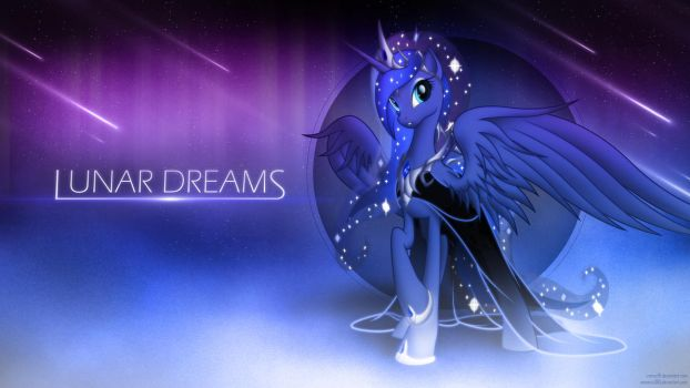 Wallpaper - Lunar Dreams by romus91