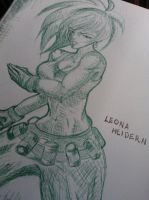 LEONA_HEIDERN by STRAYsketches