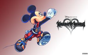 Mickey - KH HD 1.5 ReMIX by UxianXIII