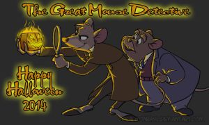 The Great Mouse Detective - Happy Halloween 2014 by doraemonbasil