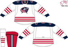 Columbus Blue Jackets Home V1 by thepegasus1935