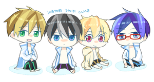 Free: iwatobi swim club by azngirlLH