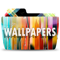 Colorflow Wallpapers Folder by peshinkovxor