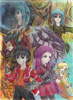 New RP Fiction: Yugioh DT Termina Wars Cover Art by BlazerZX