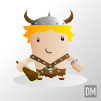 Bobby the Barbarian by DanielMead