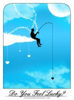Fishing for Love by artisticmind