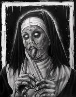 Nun (Untitled) by herrerabrandon60