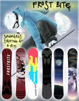 Frost Bite Snowboard Company by SpunkyRacoon
