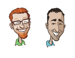 Book carictures by andrewchandler80