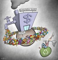 Consumption Society by BenHeine