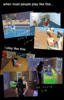 When I play with Smith family in Sims 2 by oshirockingham