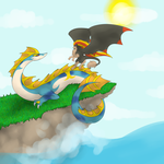 I am the sky, you are the sea by SkullCollectorCubone