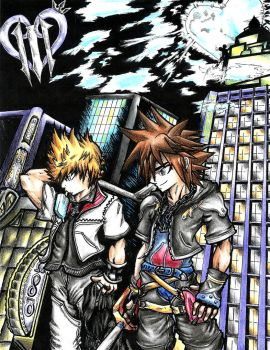 Kingdom Hearts - The Third by DArkDeviant-0