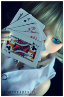 Just like a deck of cards. by ForeverResin