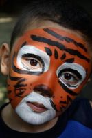 Tiger Face Paint by armanique