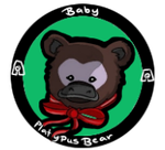 Baby Platypus bear icon by CuriouslyXinlove