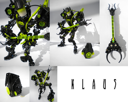 Bionicle SelfMOC: Klaus Tallis by Shorjok