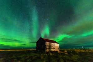 Aurora Borealis from Iceland by porbital