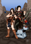 The Fourth Doctor and Company by Blackmoonrose13