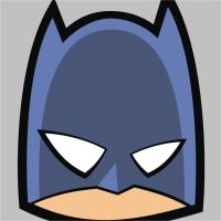 Batman Square Face by HeadsUpStudios