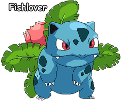 Ivysaur Pixel by Fishlover