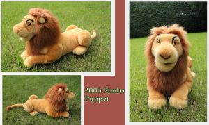 Simba puppet V2 by Laurel-Lion