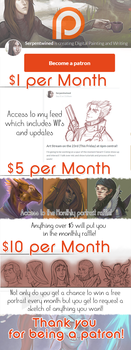 Patreon Promotion! by Serpentwined