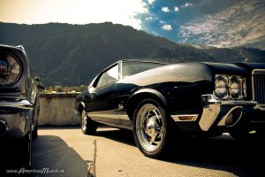 black cutlass by AmericanMuscle